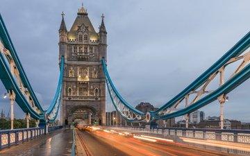 лондон, город, англия, тауэрский мост