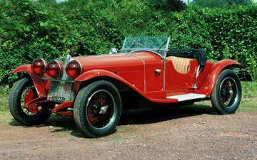 retro, alfa romeo, car, cars, retro cars, alfa romeo 6c 1750