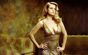 dress, blonde, actress, neckline, alice eve