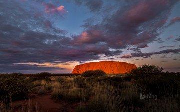 rocks, nature, desert, canyon, bing