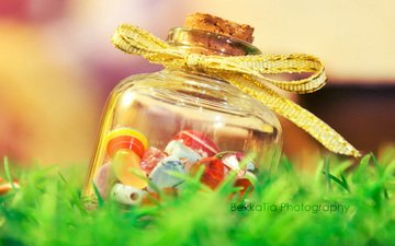 grass, candy, tape, lollipops, caramel, jar