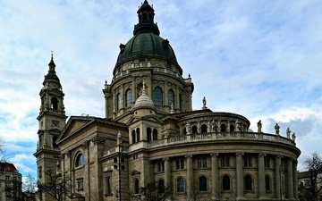 cathedral, the city, attraction, hungary, budapest, st. stephen's basilica