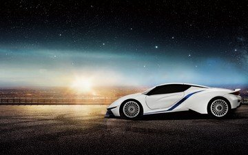 auto, supercar, arcfox, electric car, baic, electric supercar, arcfox-7