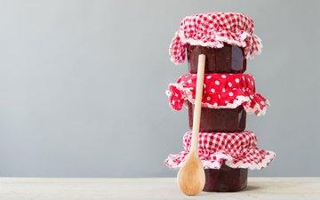 jam, sweet, jars