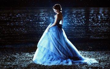 девушка, платье, креатив, принцесса, евгения литовченко