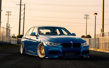 cars, bmw, bmw 3-series, bmw f30, blue bmw