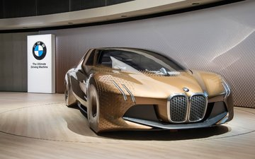concept, автомобили, бмв, bmw vision, bmw vision next 100 iconic