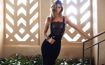 платье, модель, фотосессия, кармелла роуз