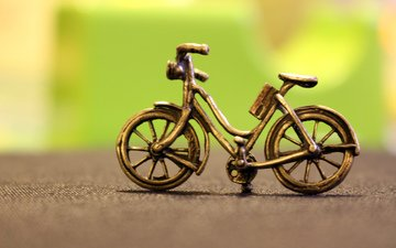 bike, figure, souvenir