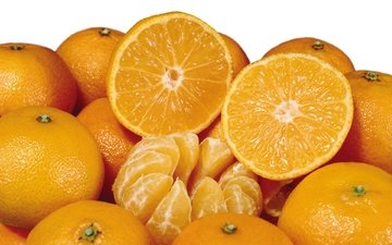 oranges, mandarin