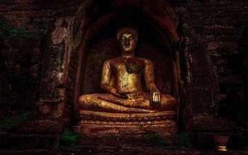 будда, статуя, религия, buddhism, буддизм