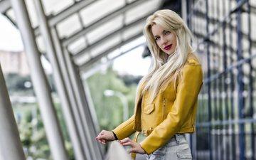 girl, blonde, alejandra perez