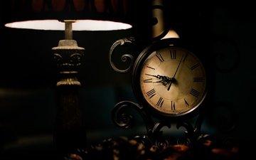 фон, часы, время