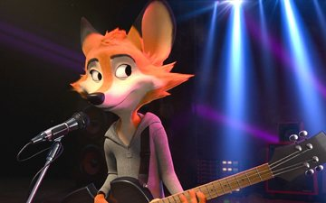 guitar, cartoons, rock dog, rockdog, rakes