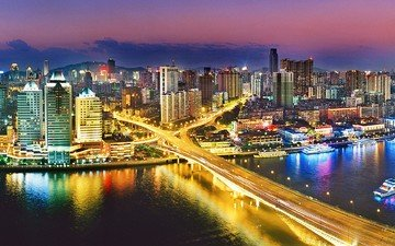 город, китай, гуанчжоу
