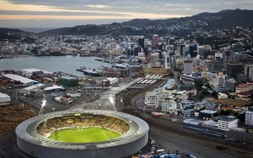 the city, stadium, new zealand, wellington