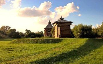 grass, mood, spring, image, 007, museum, kolomenskoye, ostrog