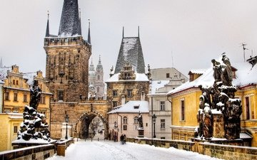 prague, charles bridge, czech republic