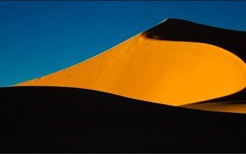 природа, песок, алжир, дюна