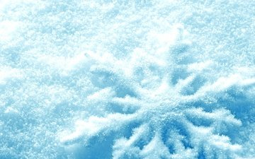 snow, nature, winter, macro, snowflakes, frost, snowflake
