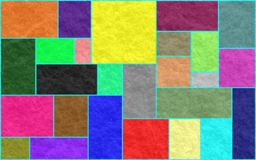 pattern, colorful, rectangles