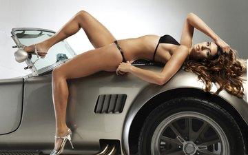 girl, auto, model, brown hair, marlena bielinska, danica patrick