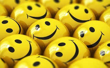 balls, smile, emoticons
