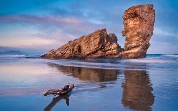 скалы, пейзаж, море