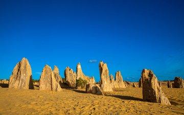 скалы, пейзаж, песок, пустыня, австралия