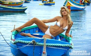 girl, blonde, look, bikini, kelly rohrbach