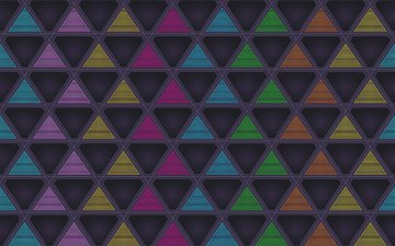abstraction, background, geometry, triangles