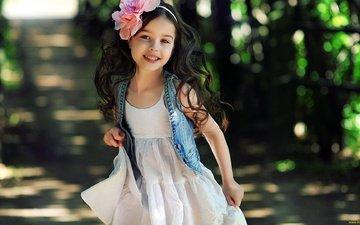 smile, look, children, girl, hair, face, child, alisa bragina