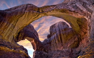 nature, usa, utah, arch, arches national park