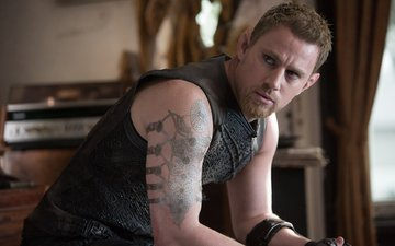 "actor, the film, tattoo, channing tatum, ""jupiter ascending"""