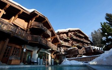 the city, home, resort, france, courchevel