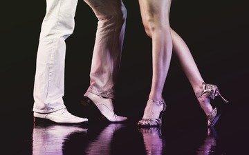 ноги, мужчина, обувь, женщина, танцы, высокие каблуки