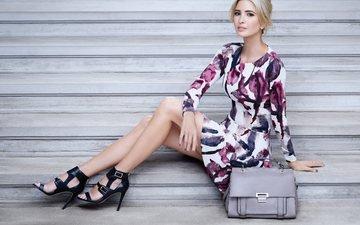 dress, blonde, model, legs, high heels, ivanka trump
