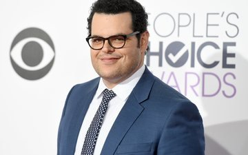 smile, look, glasses, actor, face, costume, josh gad