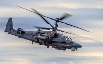 aviation, helicopter, ka-52, kamov ka-52, aircrafts