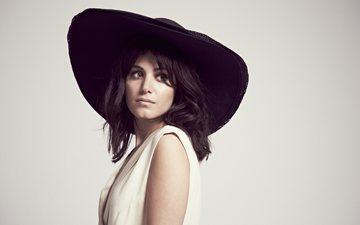 девушка, портрет, музыка, певица, шляпа, фотосессия, katie melua, кэти мелуа