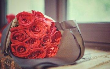 розы, букет