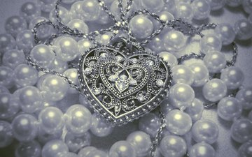pendant, decoration, pearl