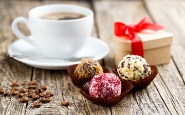 coffee, gift, chocolates