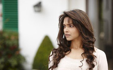 girl, look, hair, face, actress, indian, deepika padukone