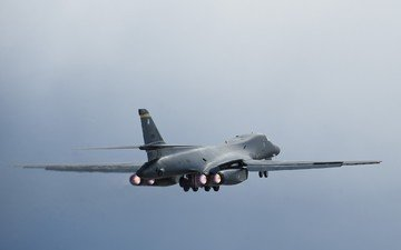the plane, boeing, aircraft, military, rockwell, b-1 lancer
