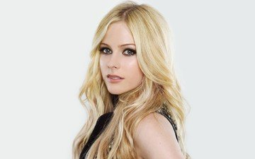 girl, look, hair, face, singer, avril lavigne