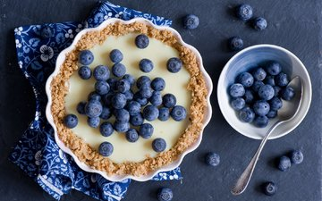 berries, blueberries, sweet, cakes, dessert, pie