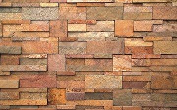 текстура, стена, камень, кирпич