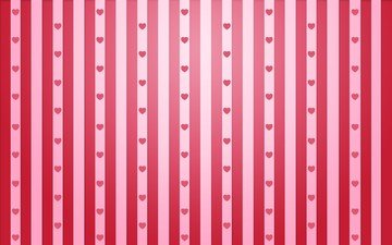 strip, line, background, pattern, hearts