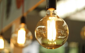 light, lamp, light bulb